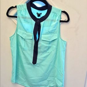 100%  polyester sleeveless  blouse